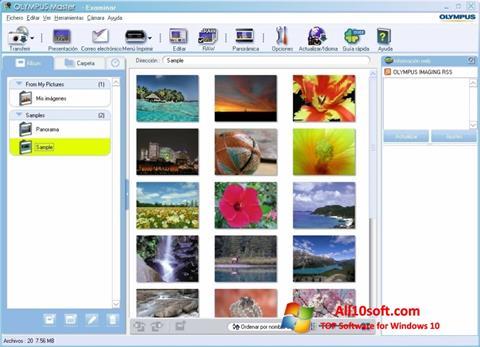 Screenshot Olympus Master Windows 10