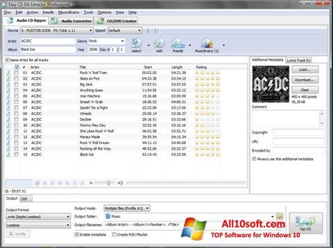Screenshot Easy CD-DA Extractor Windows 10