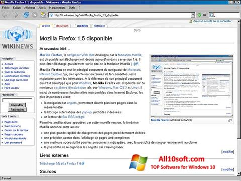 Screenshot Mozilla Firefox Windows 10