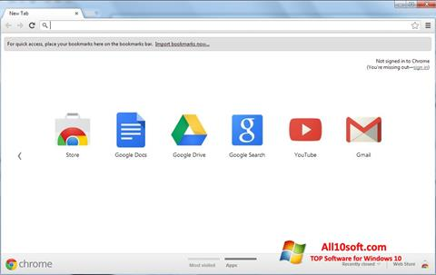 Screenshot Google Chrome Windows 10