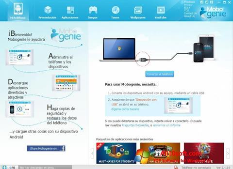 Screenshot Mobogenie Windows 10